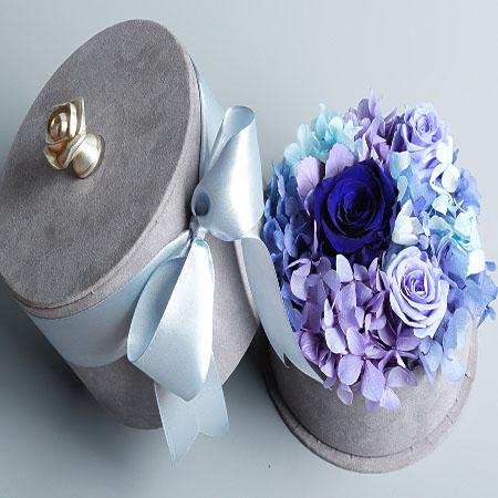 鲜花订购-爱情圆满  蓝色