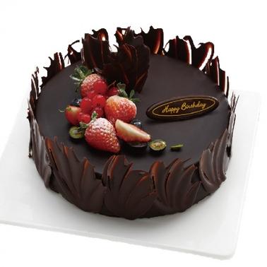 蛋糕鲜花-巧克力的爱恋
