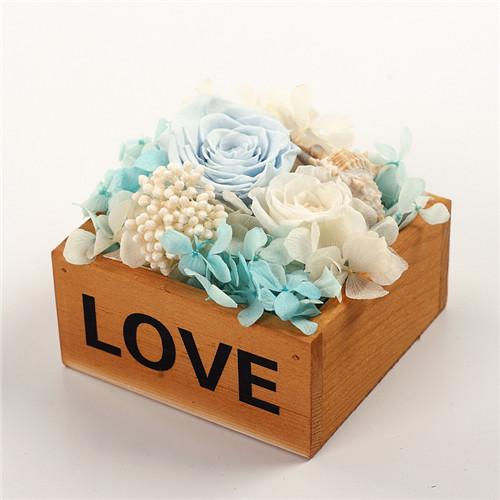 �r花�Y品-保�r花木盒love�\�{