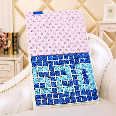 网上订花-肥皂花--520蓝色