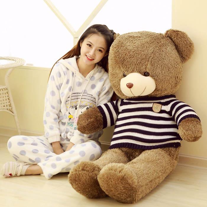 鲜花礼品-毛绒玩具-多彩小熊