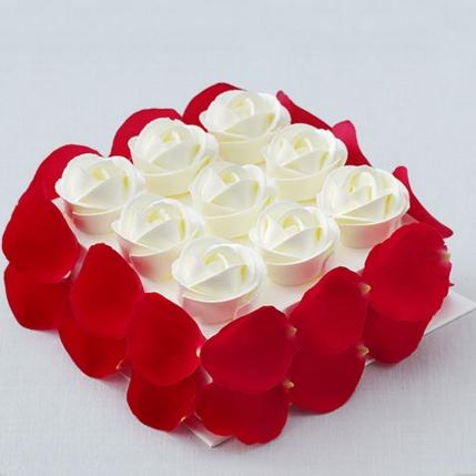 方形蛋糕-好利来-玫瑰花园
