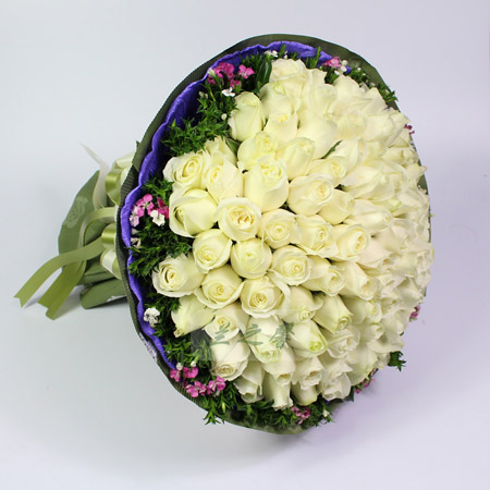 鲜花定购-纯纯的爱