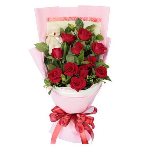 鲜花订购-节日快乐