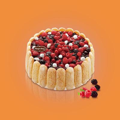 哈根�_斯蛋糕速�f-哈根�_斯 冰淇淋蛋糕 夏洛特