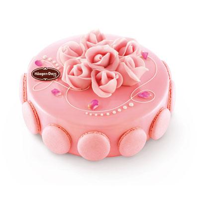 哈根�_斯蛋糕��-哈根�_斯 冰淇淋蛋糕 玫瑰馨�Z