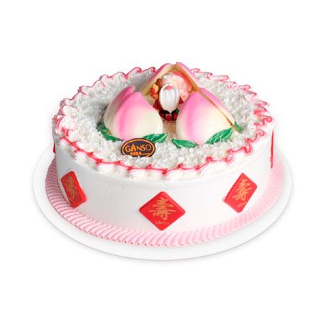 庆典蛋糕-元祖蛋糕-蟠桃献颂