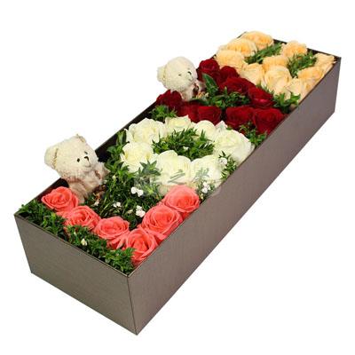 鲜花订购-心心相依
