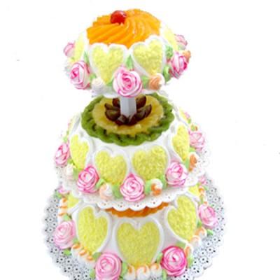 米旗品牌蛋糕-春暖花�_