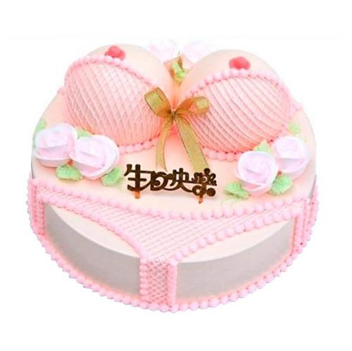 生日蛋糕-粉色���