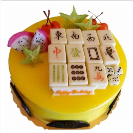 鲜花蛋糕-牌牌必胜