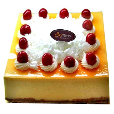 水果蛋糕-芝士�粽Z