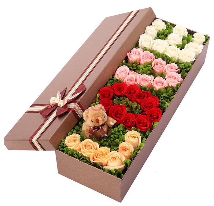 鲜花礼品-love礼盒