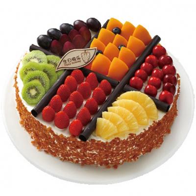 圆形蛋糕-我想要的幸福