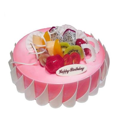 人民币蛋糕-粉色甜蜜