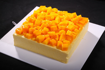 水果蛋糕-芒果慕斯