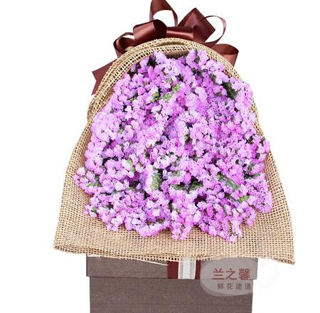 鲜花定购-紫色柔情