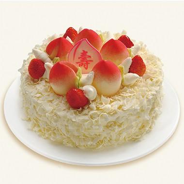 开业蛋糕-寿桃长春