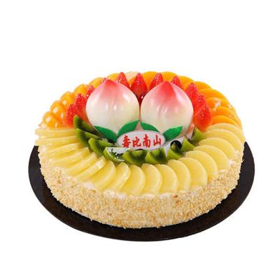 网上订购蛋糕-蟠桃献寿