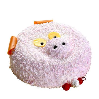 蛋糕订购-儿童小猪