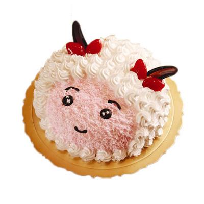 巧克力蛋糕-美羊羊