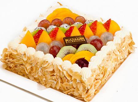 生日�r花蛋糕-�_心�o限