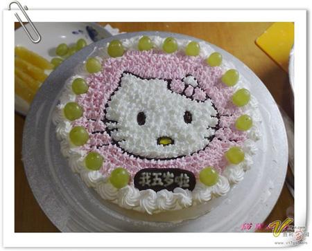 巧克力水果蛋糕-凯特猫咪