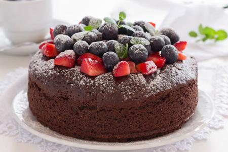 送蛋糕-蓝莓灿烂心情