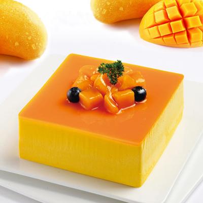 数码生日蛋糕-芒果慕斯