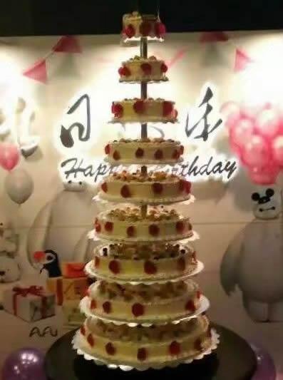 巧克力蛋糕-生日快乐