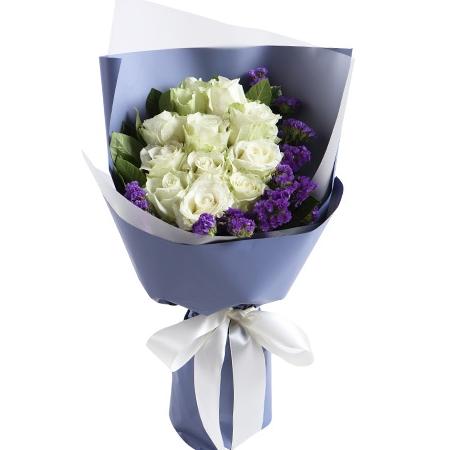 鲜花礼品-月色如花
