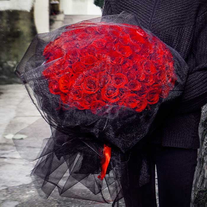 鲜花订购-深情一刻