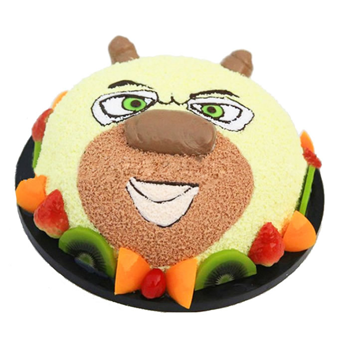 水果蛋糕-熊大