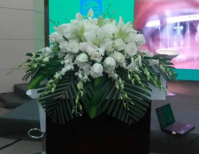 建军节鲜花-讲台花3