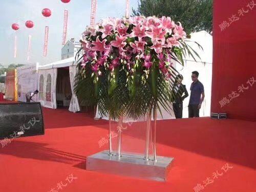 鲜花公司-讲台花6