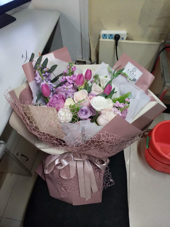 鲜花店-紫色之恋
