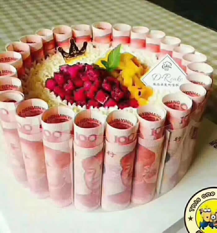 订蛋糕-财源滚滚