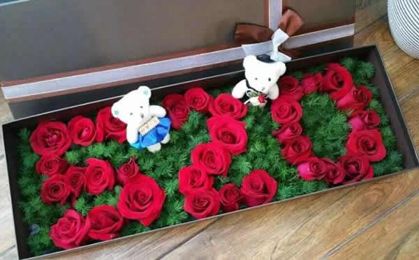 鲜花快递-520快乐