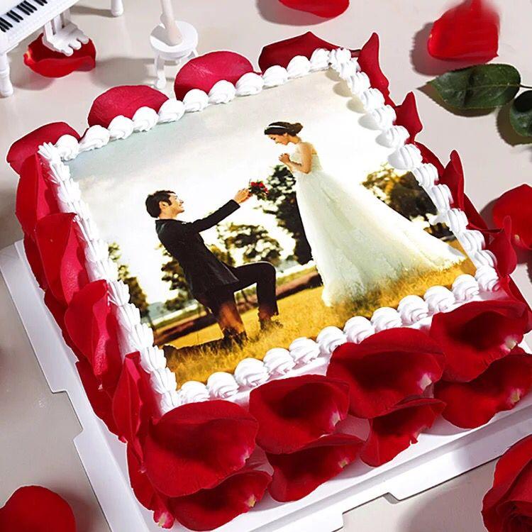 蛋糕送货上门-数码蛋糕-相思情侣