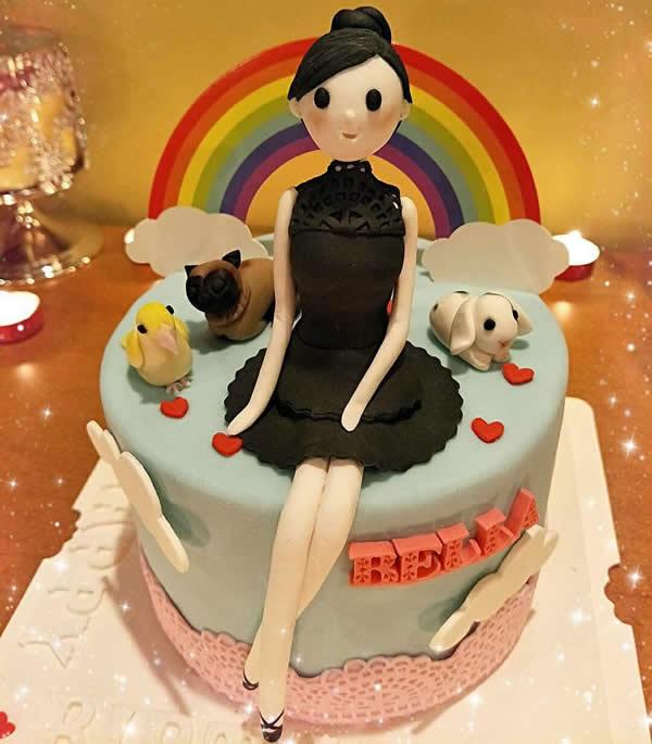 买蛋糕-翻糖公主