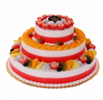 �I蛋糕-三�铀�果蛋糕