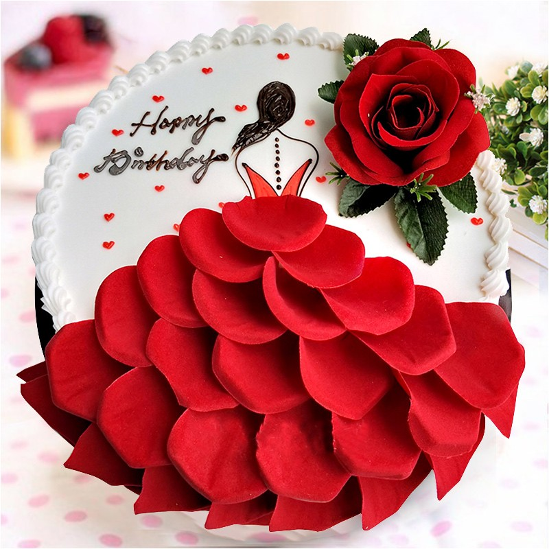 生日蛋糕-为情着迷