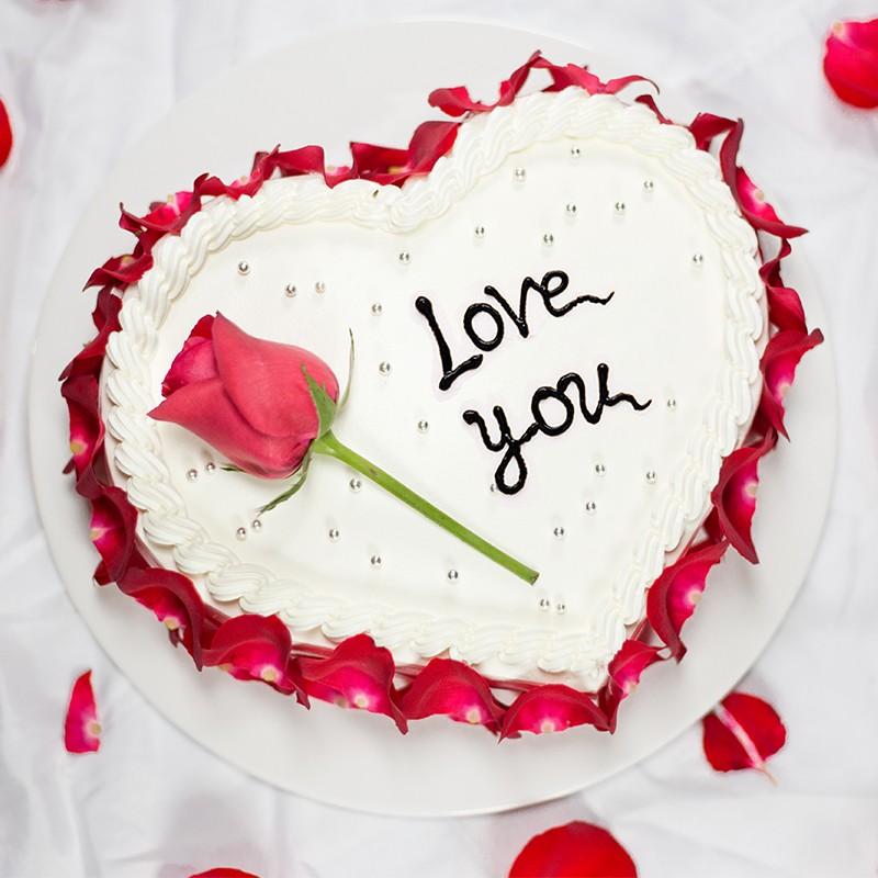 巧克力水果蛋糕-纯白之恋