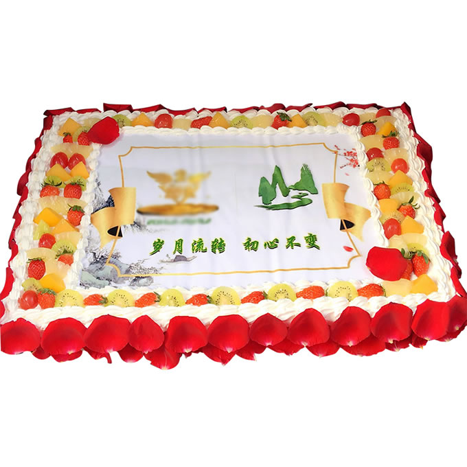 送蛋糕-大型�c典蛋糕D款
