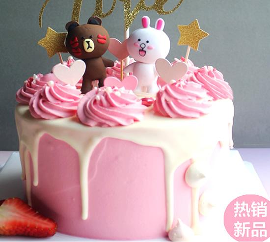 买蛋糕-布朗熊蛋糕B款