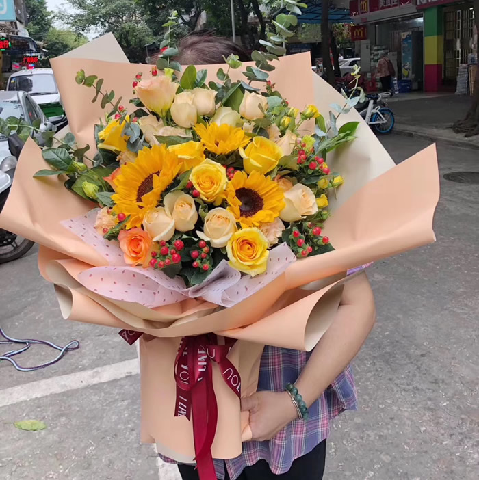鲜花网-遇上你