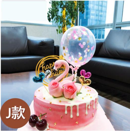 卖蛋糕dangao-网红火烈鸟蛋糕J款