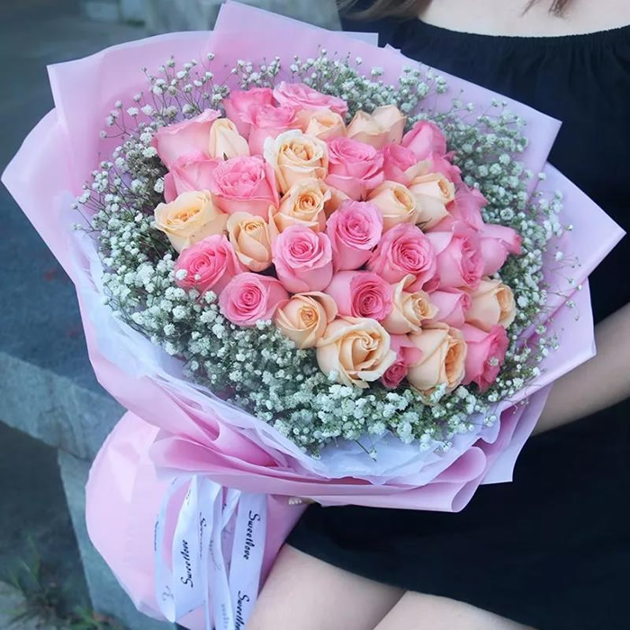 �花送花-想念你的�r候