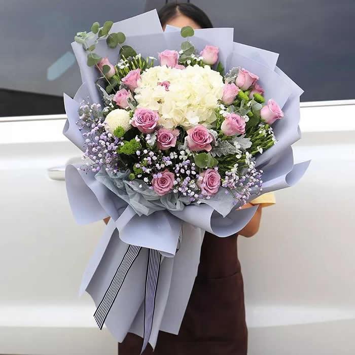 鲜花礼品-绵绵祝福