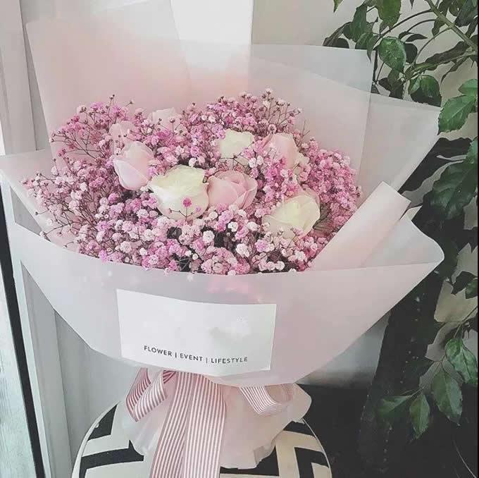 网上订花-温馨的祝福
